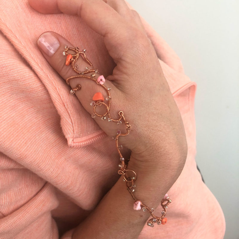 Play - Pink Corals Hand Lace Set
