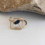 Square-up Finger Crown Ring