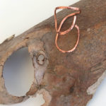 Copper Line Ring 59