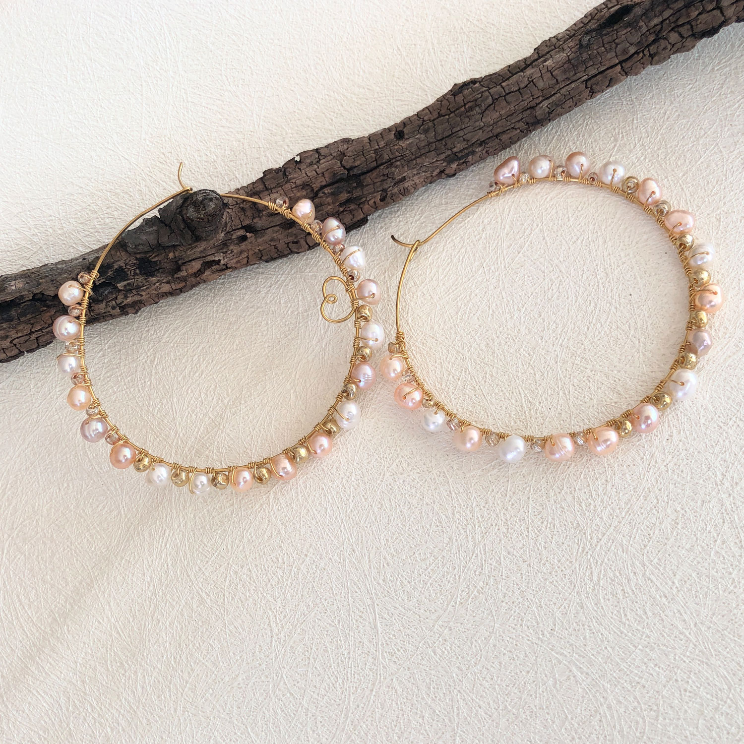 The Pearl Circle - Pearl Earrings